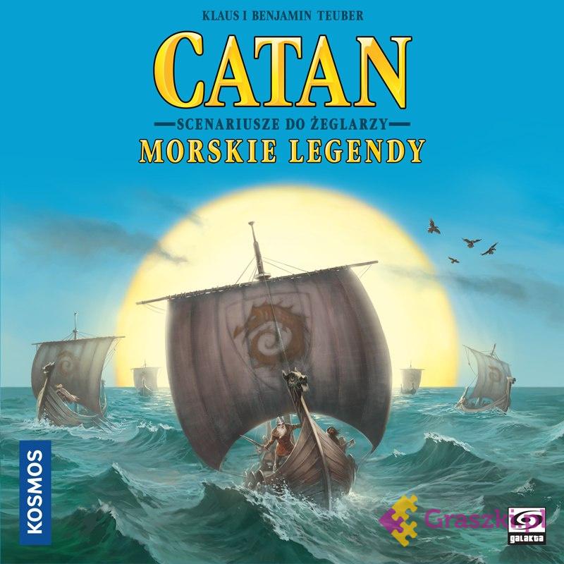 Catan: Morskie legendy | Galakta // darmowa dostawa od 249.99 zł // wysyłka do 24 godzin! // odbiór osobisty w Opolu